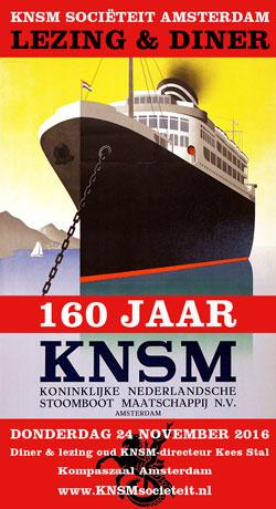 KNSM 160 jaar