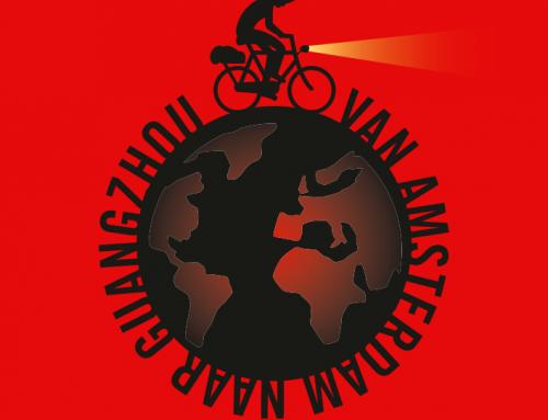 21 maart 2019 Jeroen fietst naar China